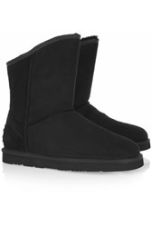Australia Luxe Collective Cosy Short Shearling Boots Black