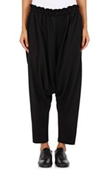 Regulation Yohji Yamamoto Women's Slouchy Drop Rise Pants Black