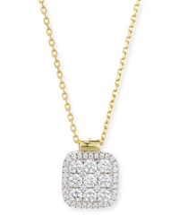 Frederic Sage Firenze Diamond Pendant Necklace In 18K Gold