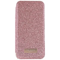 Ted Baker Glitsie Mirror Folio Case For Iphone 6 7 And 8 Rose Gold