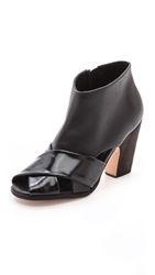 Rachel Comey Rules Cutout Booties Black