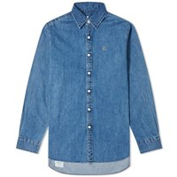 Denim By Vanquish And Fragment Icon Shirt Blue