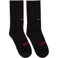 Alyx Black Dropout Socks