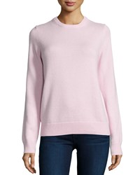 Michael Kors Long Sleeve Cashmere Sweater Blush