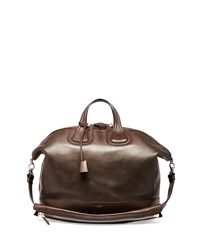 Nightingale Men's Leather Satchel Bag Brown Givenchy