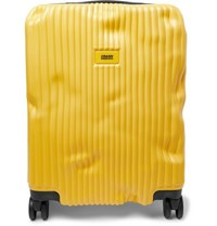 Crash Baggage Stripe Cabin Polycarbonate Suitcase Yellow