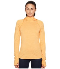Fjall Raven High Coast Lite Hoodie Seashell Orange Women's Sweatshirt Yellow
