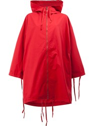 Toogood The Explorer Raincoat Red