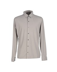 Become Shirts Shirts Men Grey