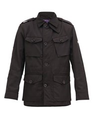 Ralph Lauren Purple Label Wrexham Shell Field Jacket Black