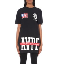 Aape By A Bathing Ape Nyc Cotton T Shirt Black
