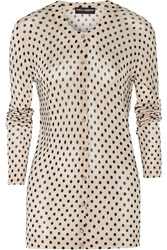 Dolce And Gabbana Polka Dot Knitted Cardigan