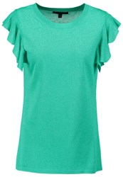 Banana Republic Print Tshirt Green