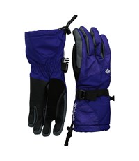 Columbia Whirlibird Iii Glove Hyper Puprple Plaid Print Hyper Purple Extreme Cold Weather Gloves