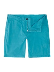 Paul Smith Men's Ps By Chino Stretch Shorts Turquoise