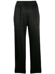 Raquel Allegra Trapunto Pants Black