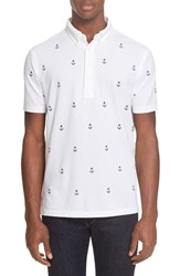 Men's Polo Ralph Lauren Embroidered Anchor Pique Polo