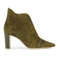 Malone Souliers Clara 70Mm Ankle Boots Moss Moss