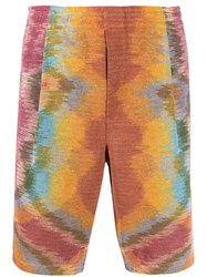 Missoni Tie Dye Knee Length Shorts 60