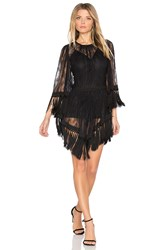 Alice Mccall Are You Ready Girl Mini Dress Black