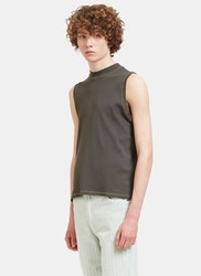 Eckhaus Latta Muscle Tank Top Green