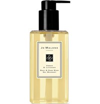 Jo Malone London Amber And Lavender Body And Hand Wash 250Ml Colorless