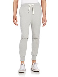 Drifter Cade Jogger Pants Heather Grey
