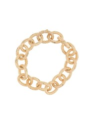 Carolina Bucci 18Kt Yellow Gold Florentine Finish Links Bracelet