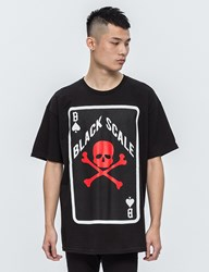 Black Scale Spades S S T Shirt