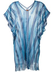 Missoni Knitted Tunic Blue