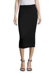 Max Mara Babila Pencil Skirt Black