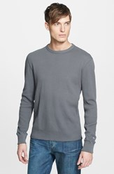 Rag And Bone Men's Rag And Bone Standard Issue Long Sleeve Thermal T Shirt Pale Grey