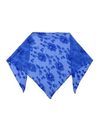 Tucker Shawls Bright Blue