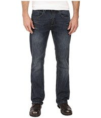 Buffalo David Bitton King Slim Boot Cut In Sandblasted Vintage Sandblasted Vintage Men's Jeans Blue
