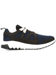 Neil Barrett 'Molecular Runner' Sneakers Blue