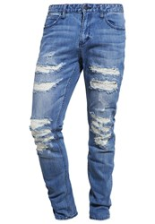 Brooklyn's Own By Rocawear Slim Fit Jeans Destroyed Denim