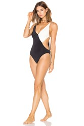 Clube Bossa Collins Swimsuit Black And White