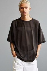 Urban Outfitters Uo Tailgate Mesh Football Tee Black