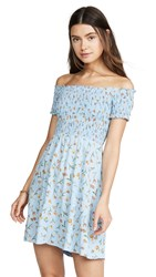 Knot Sisters Bluebell Dress Poppy Floral
