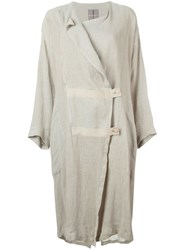 Issey Miyake Vintage 1970'S Coat Nude And Neutrals