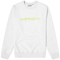 Carhartt Wip Logo Sweat Grey
