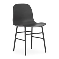 Normann Copenhagen Form Chair Steel Black