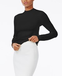 Rachel Roy Lattice Back Sweater Only At Macy's Black