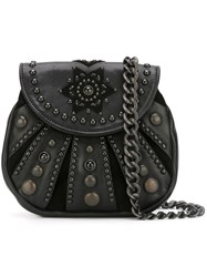 Htc Hollywood Trading Company Beaded Crossbody Bag Black