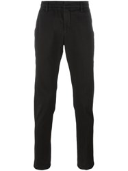 Dondup Tapered Trousers Black