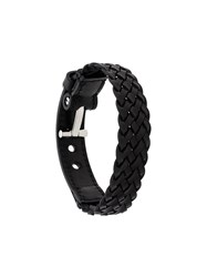 Tom Ford Braided Bracelet Black