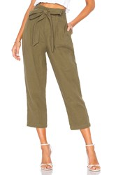 Ag Adriano Goldschmied Darena Pant Olive