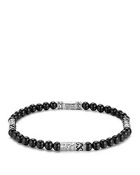 John Hardy Men's Sterling Silver Palu Multi Station Bracelet With Black Onyx