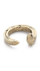 Giles And Brother Original Railroad Spike Ring Brass