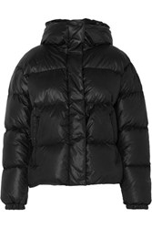 Bogner Fire And Ice Ranja Oversized Cropped Hooded Quilted Down Ski Jacket Black